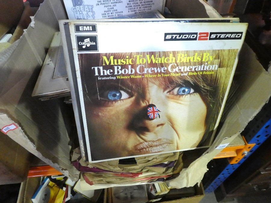 A box of LPs of various themes and sound tracks to include The Sound of Music and three boxes below - Image 2 of 4