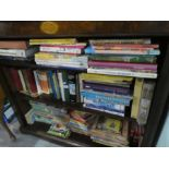 A large quantity of children's annuals and novels