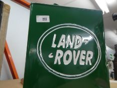 Land Rover petrol can