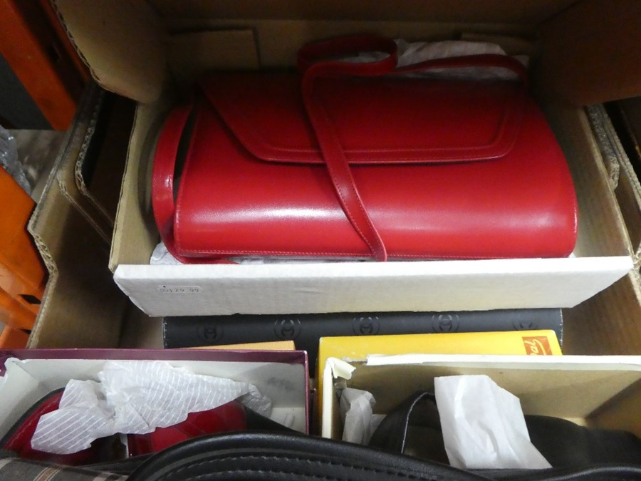 A box of vintage shoes and handbags, some Italian, of various sizes - Image 2 of 3