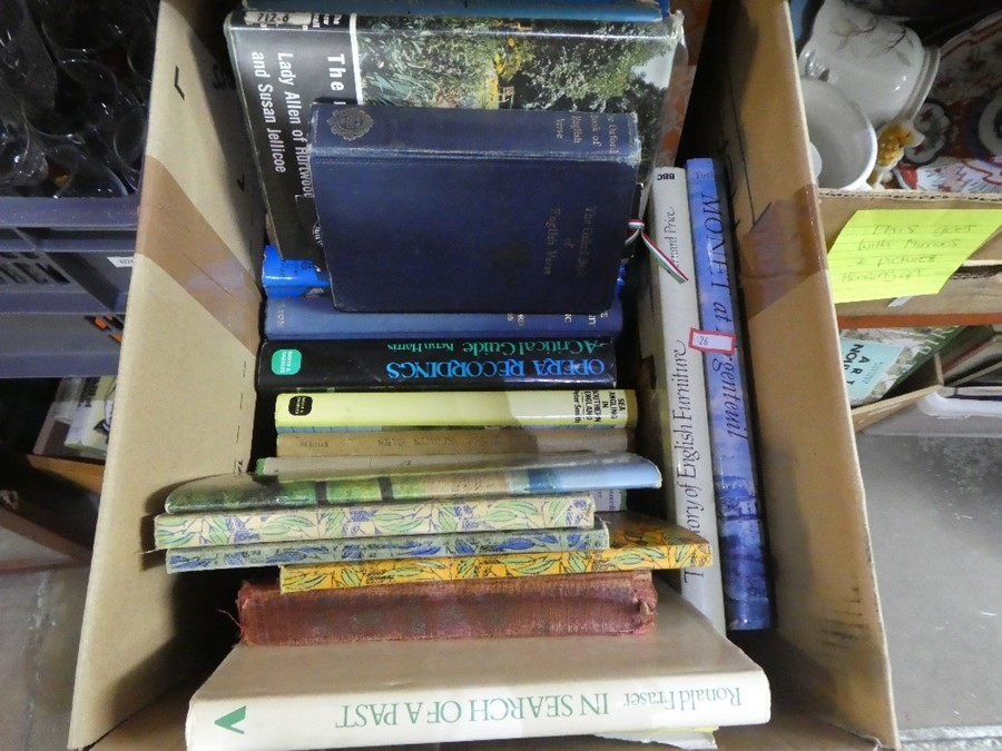 Large selection of hard and softback books - various subjects