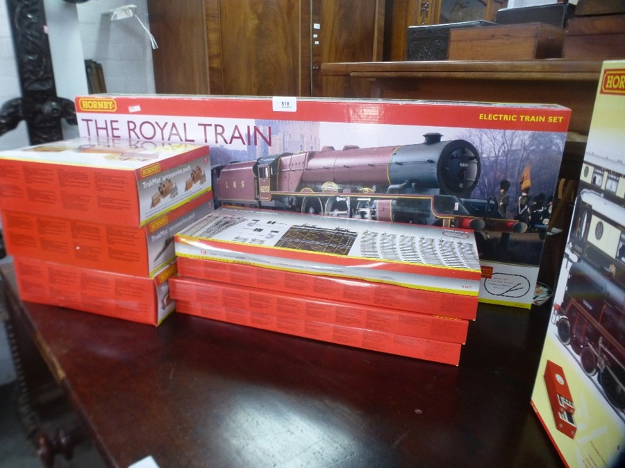A Hornby OO Gauge Royal Train boxed set with additional accessory packs - Image 2 of 3