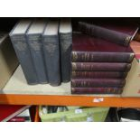 Selection of various hard back books to incl. Winston Churchill WWII etc