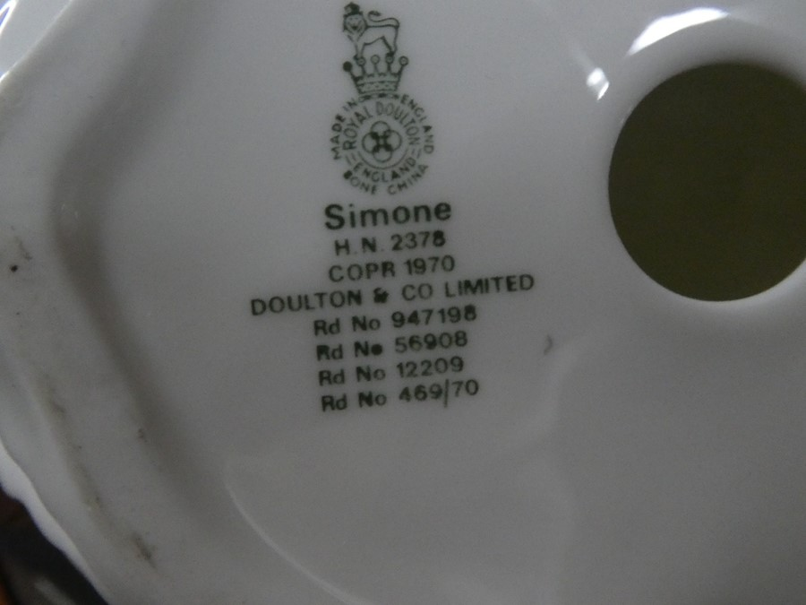 A quantity of Royal Doulton including Simone, Wistful & Fair Lady - some AF - Image 3 of 5