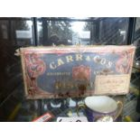 Carr & Co Marie unopened WW11 biscuits. handed down from family generations from a General in the wa