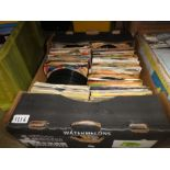 2 Boxes of various 70s and 80s singles