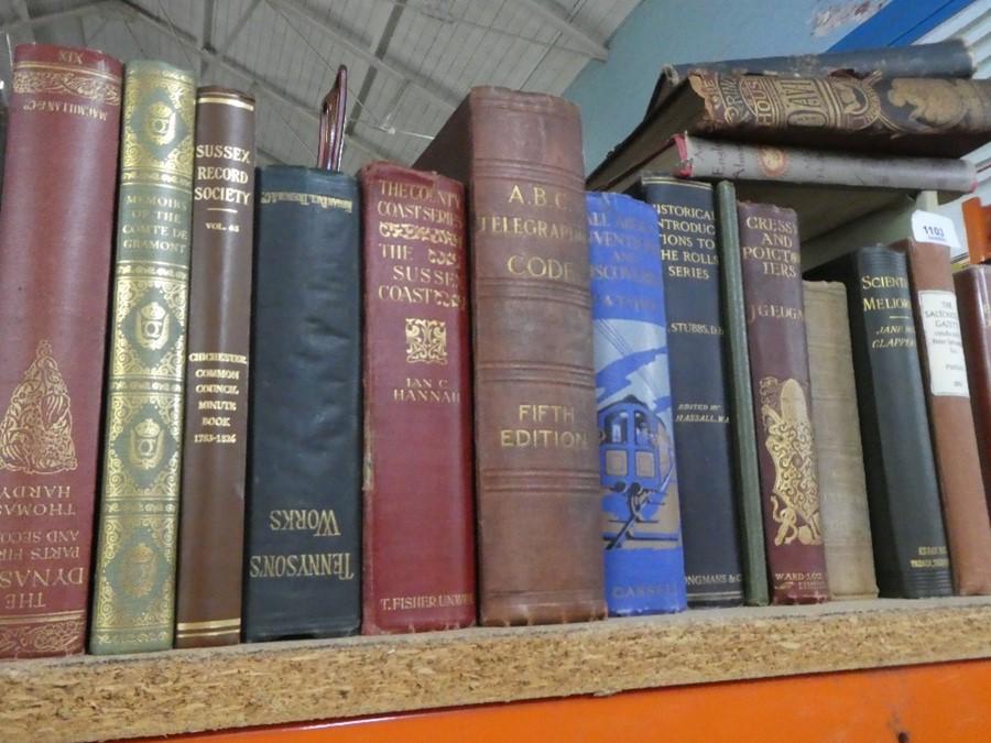 Shelf of mostly hardback books on various themes - Image 2 of 4