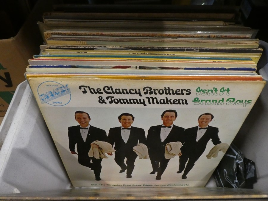 Two boxes of Lps mainly country and classical genre