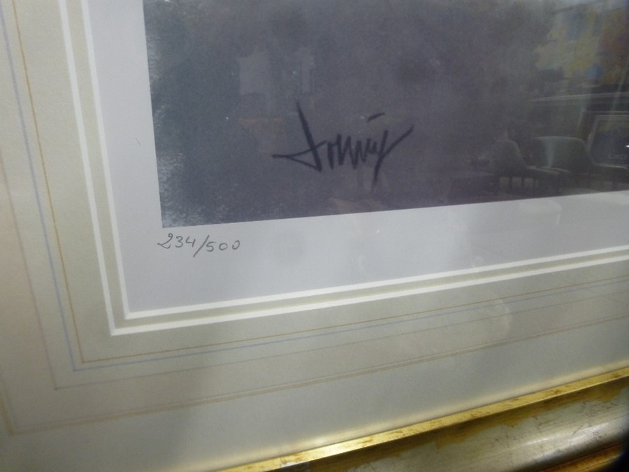 Two similar limited edition pencil signed prints of female nudes by Domingo - Image 3 of 5