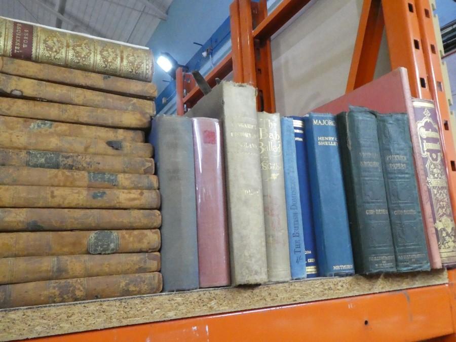 Shelf of mostly hardback books on various themes - Image 3 of 4