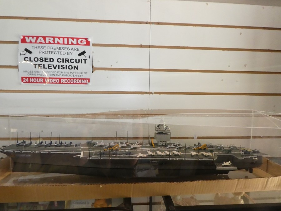 US Navy CVN 65 - USS Enterprise scale model (commissioned in 1961 and decommissioned in 2017)