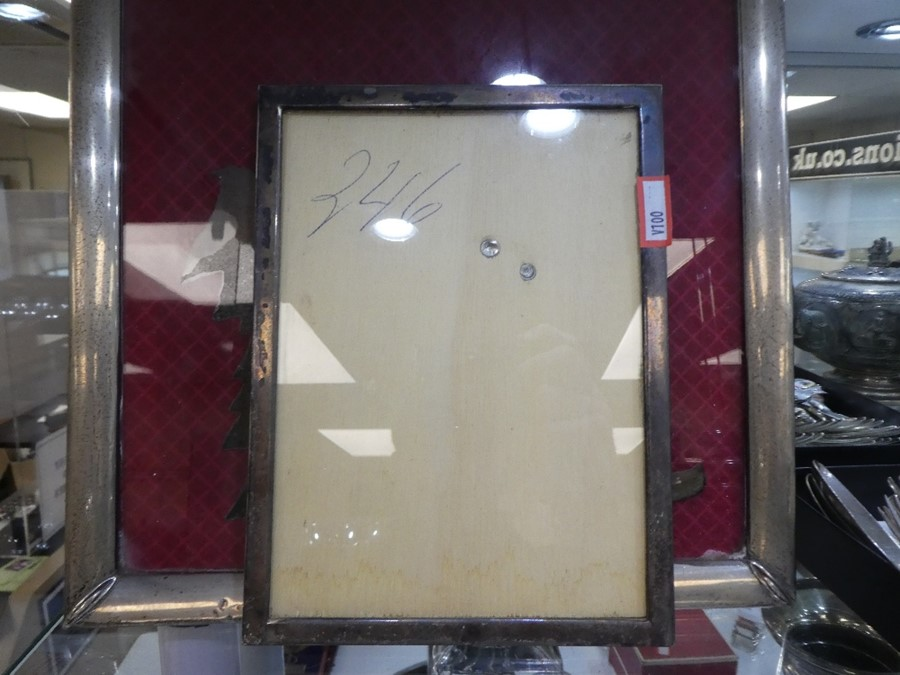 Two Spanish silver photoframes, one 20cm x 15cm approx, the other 33.5cm x 27cm approx - Image 7 of 7
