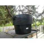 Ten horse feeder buckets