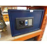 Blue digital safe