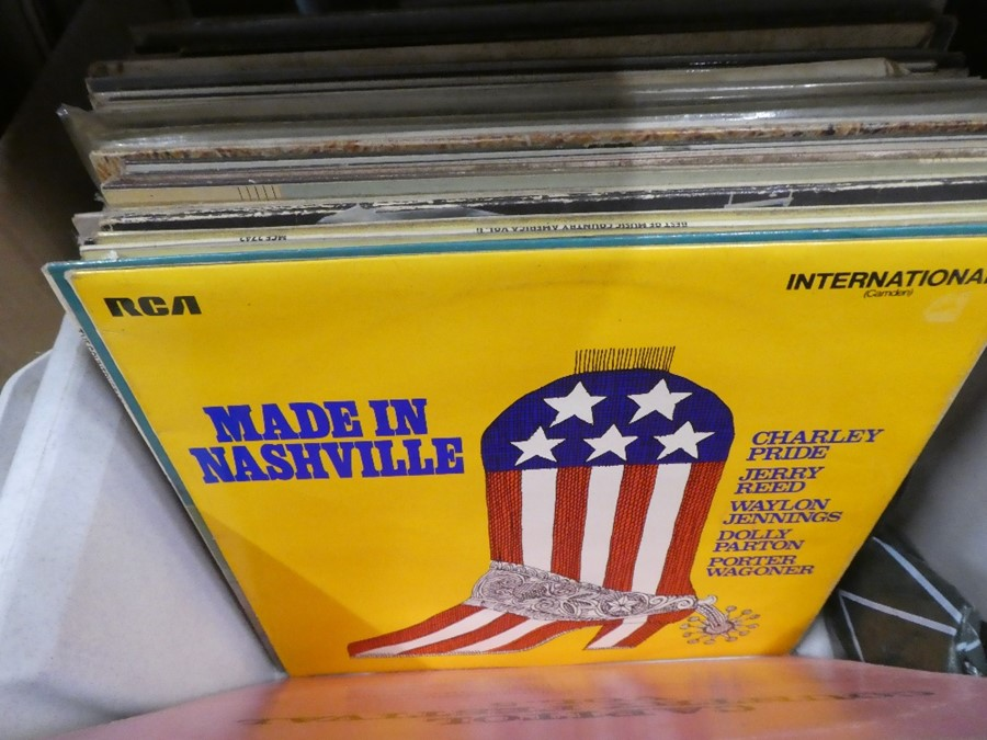 Two boxes of Lps mainly country and classical genre - Image 2 of 3