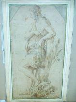 Attributed to Giulio Pippi called Giulio Romano (c.1499-1546) David, Victorious over Goliath
