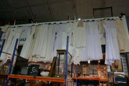 A quantity of wedding dresses and similar, some by ASOS