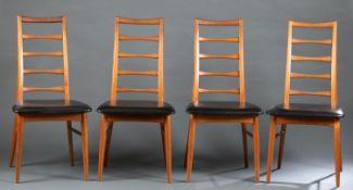 4 Niels Koefoed for Koefoeds Hornslet, chairs.