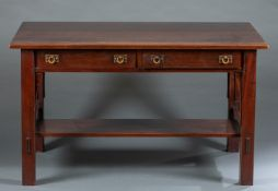 Arts and Crafts Stickley style library table.