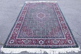 Sino-Persian Tabriz Mahi rug.