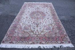 Persian Tabriz area rug, 21st c.