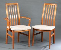 6 Kai Kristiansen, S. Anderson Mobelfabrik, chairs