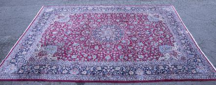 Persian Nain rug, 20th century.