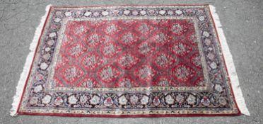 Turkish Hereke rug, 20th century.