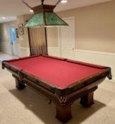 Brunswick-Balke-Collender Co. billiard table
