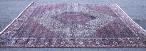 Persian Bidjar wool rug, 20th c.