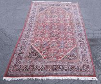 Persian Bijar rug, 20th century.