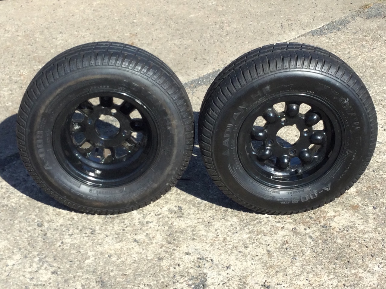 A pair of new 19in Mini Cooper wheels with Yokohama tyres. (2) - Image 2 of 3