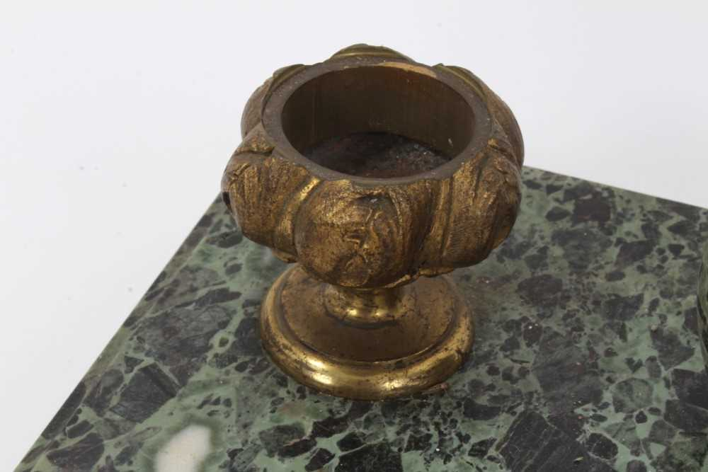 19th century marble desk stand - Image 4 of 13