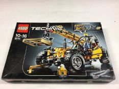 Lego Technic 8295 Telescopic Loader, 42006 Excavator 2 in 1, 8446 Monster Crane Truck, all with inst