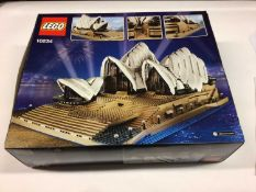 Lego Buildings 10234 Sydney Opera House, with instructions, Boxed