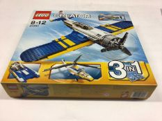Lego Creator 31011 Plane 3 in 1, plus two 6745 Plane 3 in 1, with instructions, Boxed