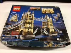 Lego Buildings 10214 Tower Bridge, 10218 Pet Shop, with instructions, Boxed