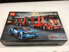Lego Technic 42098 Car Transporter with instructions, Boxed