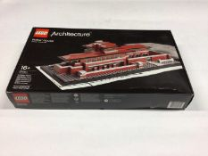 Lego Architecture 21010 Robbie House, with instructions, Boxed