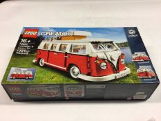 Lego Creator Expert 10242 Mini Cooper, 10220 Volkswagen Camper, with instructions, Boxed