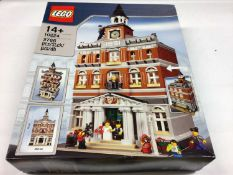 Lego Building 10224 Town Hall, with instructions, Boxed