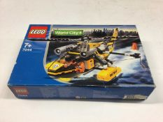 Lego 7286 Police Bundle, 3180 Tank Truck, 7991 Carbarge Truck, 7044 Coastguard Helicopter, 60042 Cit