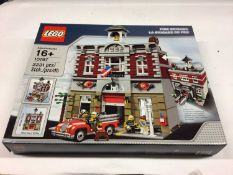 Lego Building 10197 Fire Station, with instructions, Boxed