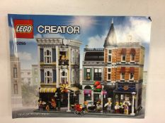 Lego Building 10255 Assembly Square, with mini figs and instructions, No box plus 10189 Taj Mahal wi