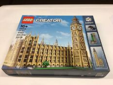 Lego Creator Expert 10253 Houses of Parliament including Big Ben tower, with instructions, Boxed