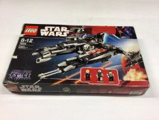 Lego 7672 Rogue Shadow, 7778 Millennium Falcon (Midi), 7915 Imperial V-Wing, all including instruct