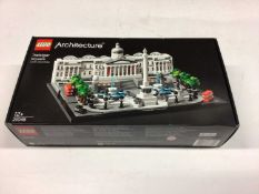Lego Architecture 21041 Great Wall of China, 21020 Trevi Fountain, 21045 Trafalgar Square, 21026 Ven