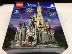 Lego Buildings 71040 Disney Castle, with instructions, Boxed
