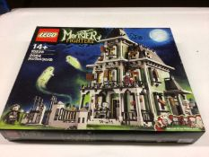 Lego Building 10228 Haunted House, with instructions, Boxed
