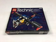 Lego Technic 8412 Helicopter, 8836 Sky Ranger Aeroplane, 42002 Hovercraft, all with instructions, Bo